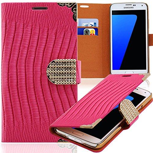 Numva - Cover per LG G2 Mini, con strass, per LG G2 Mini, colore: Rosa