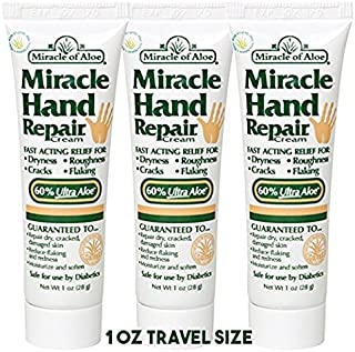 Miracle Hand Repair Cream with 60% UltraAloe (1 Oz 3-Pack)