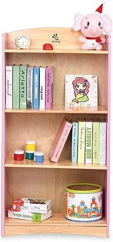 Librerías Estante para Libros Estantería Biblioteca de Estudiante de Madera Estante de Madera Estante de la Sala de Estar Estante de exhibición del Dormitorio de la Sala de Estar