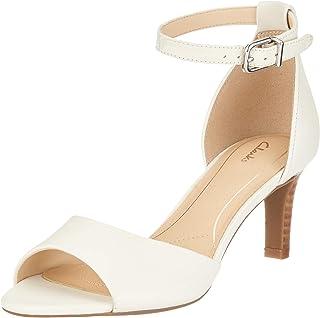 a59b276a Amazon.es: Blanco - Zapatos de tacón / Zapatos para mujer: Zapatos y ...