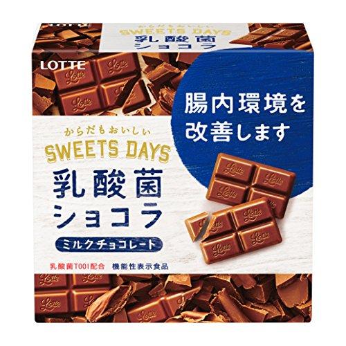 ロッテ 乳酸菌ショコラ 56g×6個