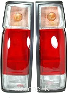 K1AutoParts (36cm Tall) Rear Taillights Tail Light Lamps For Nissan Navara D22 NP300 Single Cab / D21 1986-1997