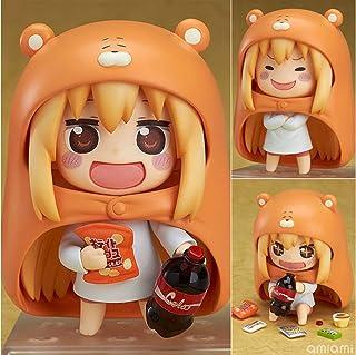 QTRT Himouto!Umaru-chan Doma Umaru Q Versione Toy intercambiabile Viso mobile Figura PVC Anime Gioco del personaggio dei c...