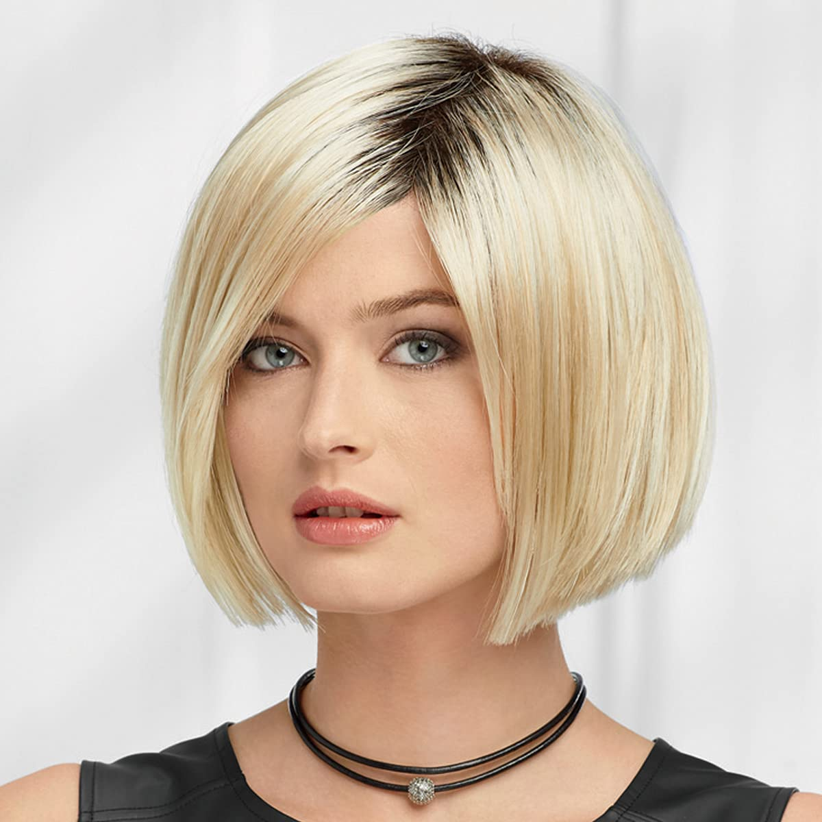 Amelia Wig Louisville-Jefferson County Mall by Paula Young - Bold Bob with Popular product Flattering Side Pa