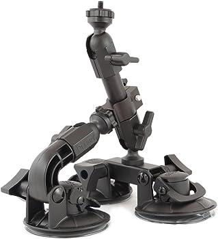 Delkin Ddmnt-Triple Fat Gecko Three-Arm Suction Mount