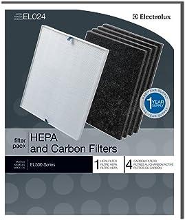 Electrolux Filtro HEPA y carbono EL024 - 1 filtro HEPA, 4 fi