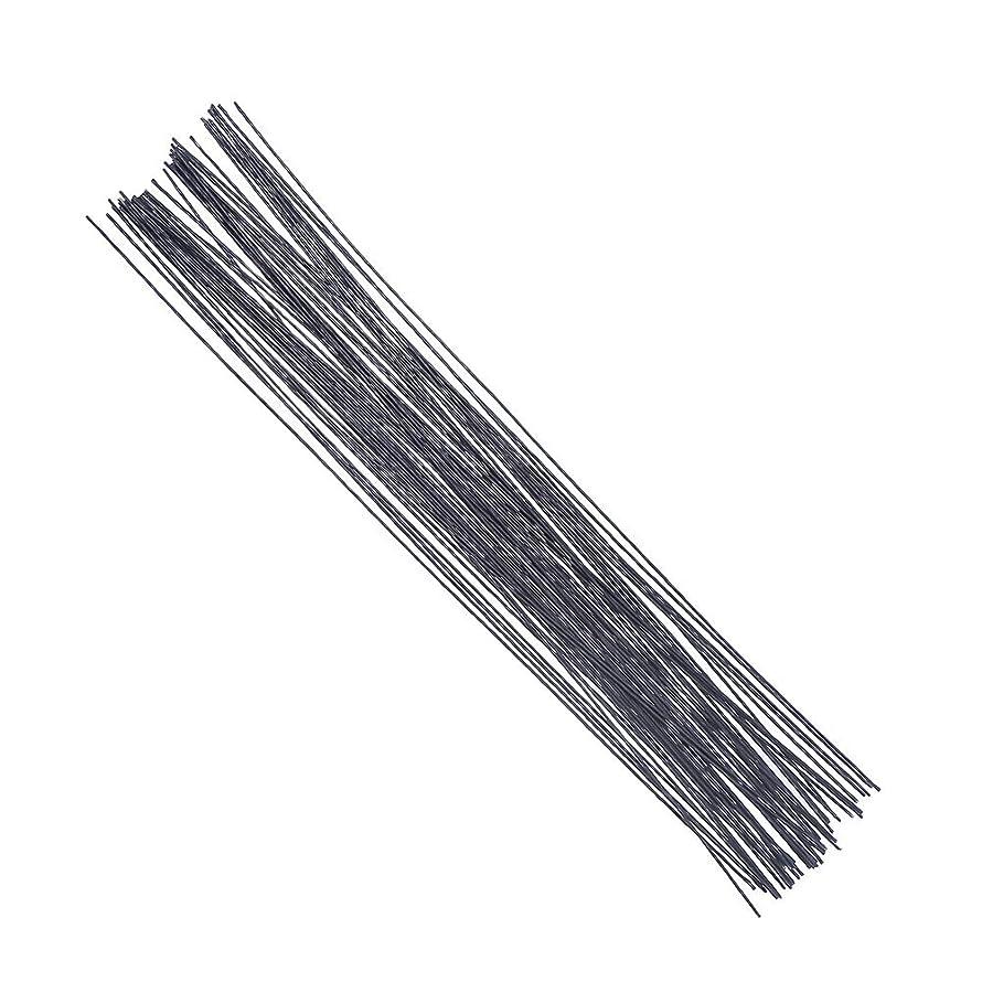 Decora 18 Gauge Black Floral Wire 16 inch,50/Package