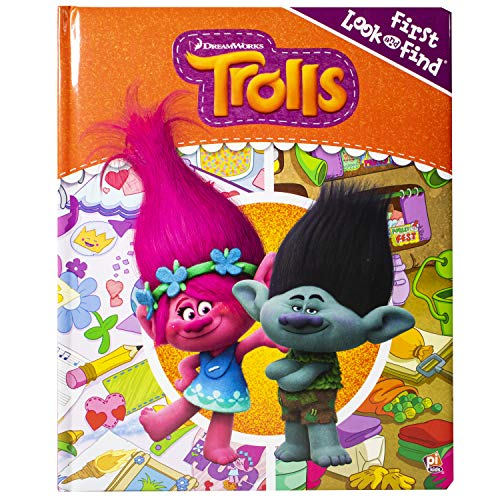 DreamWorks Trolls First Look and Find Activity Board Book for 5.00