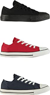 SoulCal Low Canvas Shoes Childs Boys Casual Trainers Sneakers Kids Footwear