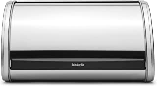 Brabantia Roll Top Bread Box, Medium - Matte Steel 348907