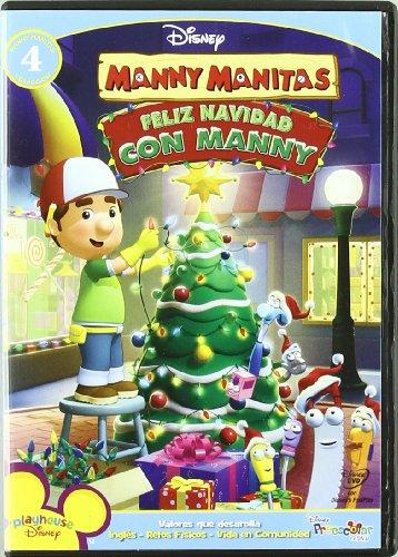 Manny Manitas Feliz Navidad Con Manny [DVD]