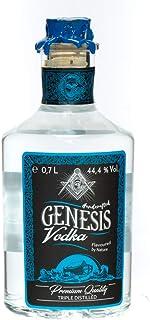 Genesis Vodka: dreifach destillierter Premium Wodka mit Erdfilterung / 44,4% Vol. / 0,7 Liter-Flasche