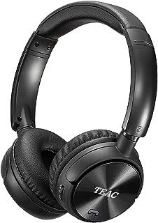 TEAC 4 in 1 ON Ear Clear Sound Technology Headphones (BLUQ2B), Wireless Bluetooth, FM Radio, Handsfree Feature, MicroSD Sl...