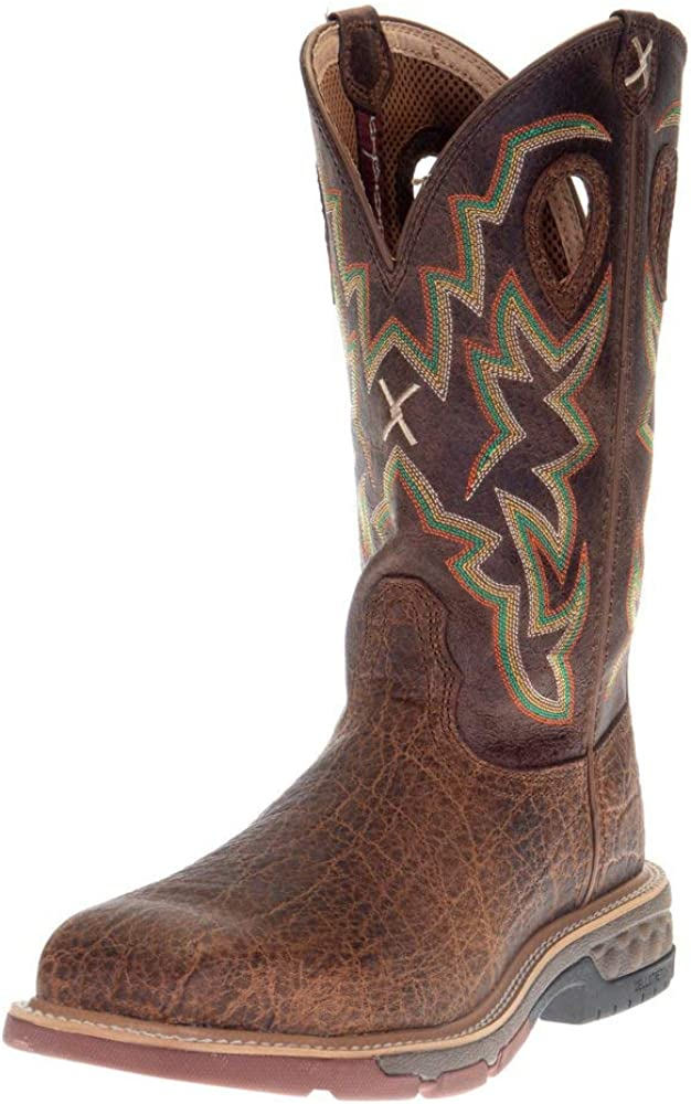 Twisted X Men's 12-Inch Nano Composite Safety Toe B 5%OFF お得セット Western Work