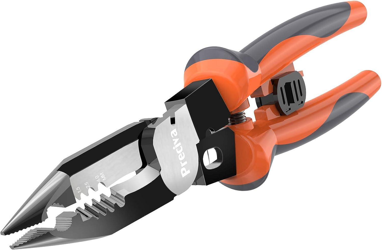 Wire 25% OFF Stripping Crimper Discount mail order Tool Stripper Preciva 7-in-1 Plier
