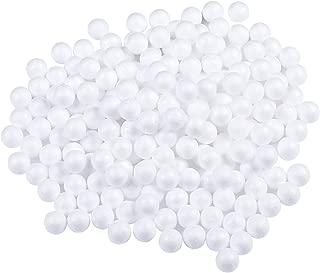 Dorhui 240 Pieces I Inch Foam Balls, Craft Styrofoam Balls Art Decoration Craft Balls Polystyrene foam Balls for for Christmas Ornaments House Art Craft, School Projects Party Decorations, White Color