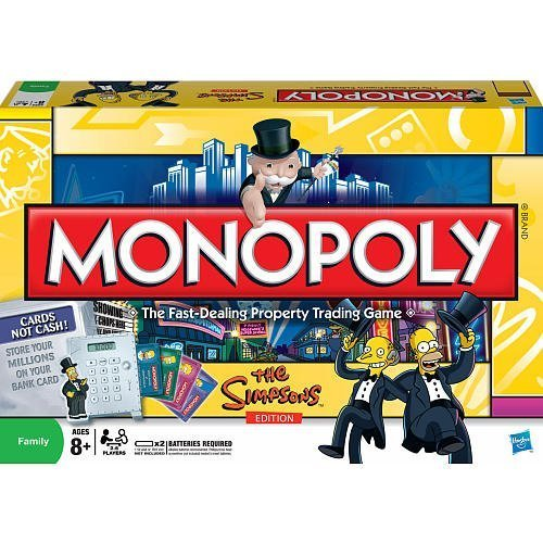 Monopoly The Simpsons Edition by Parker Brothers by Parker Brothers: Amazon.es: Juguetes y juegos