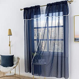 sheer curtains and valances