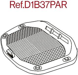 SHAD D1B37PAR Platine/Grill Universal für Truhe SH37, Schwarz