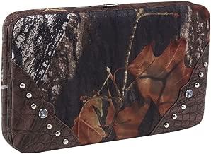 Licensed Mossy Oak Camo Western Hobo Tote Purse Handbag and Realtree Camo AP Pink Wallet (Realtree MAX4+CF)