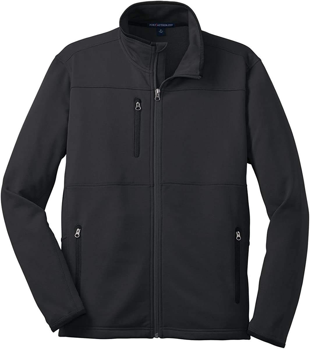 Port Authority Finally resale start F222 Pique Fleece - Outlet ☆ Free Shipping 4XL Jacket Black