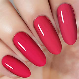 Bright Red Nail Dipping Powder (added vitamin) I.B.N Acrylic Dip Powder Colors, 1 Ounce/28g, No Need Nail Dryer Lamp Cured (DIP 046)