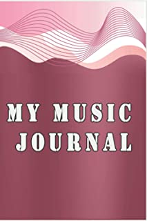 My Music Journal: Music Practice & Assignment Notebook: Get more out of music lessons with this useful notebook