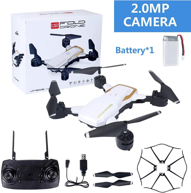XuBa LF609 WiFi FPV RC Drone Quadcopter with 0.3MP 2.0MP Camera White 200W