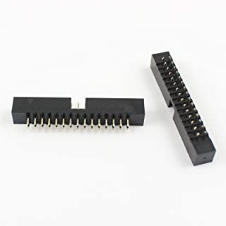 100Pcs 2mm 2.0mm Pitch 30 Pin Straight Male Shrouded Box Header IDC Connector