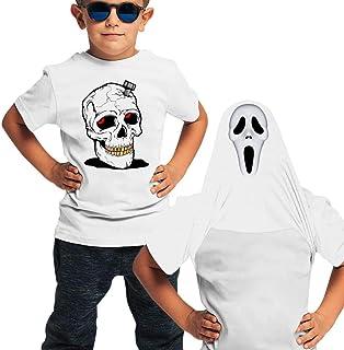 JIANUO Halloween Boys Short Sleeve T-Shirt