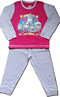 Girls Childrens Go Jetters Pajamas Set Unicorn Sleepwear Gift