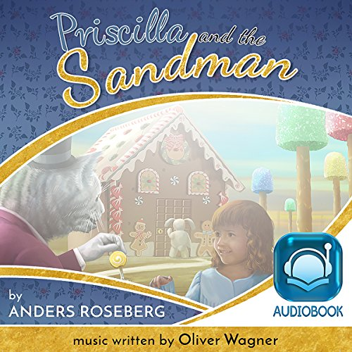 Priscilla and the Sandman audiobook cover art