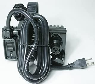 SmartPool NC1023 Dual Timer Power Supply Nitro, NC52S, PT7i, Black