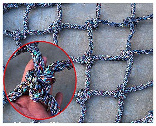 Seilnetz,Kletternetz Klettern Sicherheitsnetz füR Kinder PKW Netz Strickleiter Ladung Balkon-Netz Containernetz Gepäcknetz Sicherungsnetz Schutznetz Spielturm Kletterturm Kletterseil Zaunnetz Netz