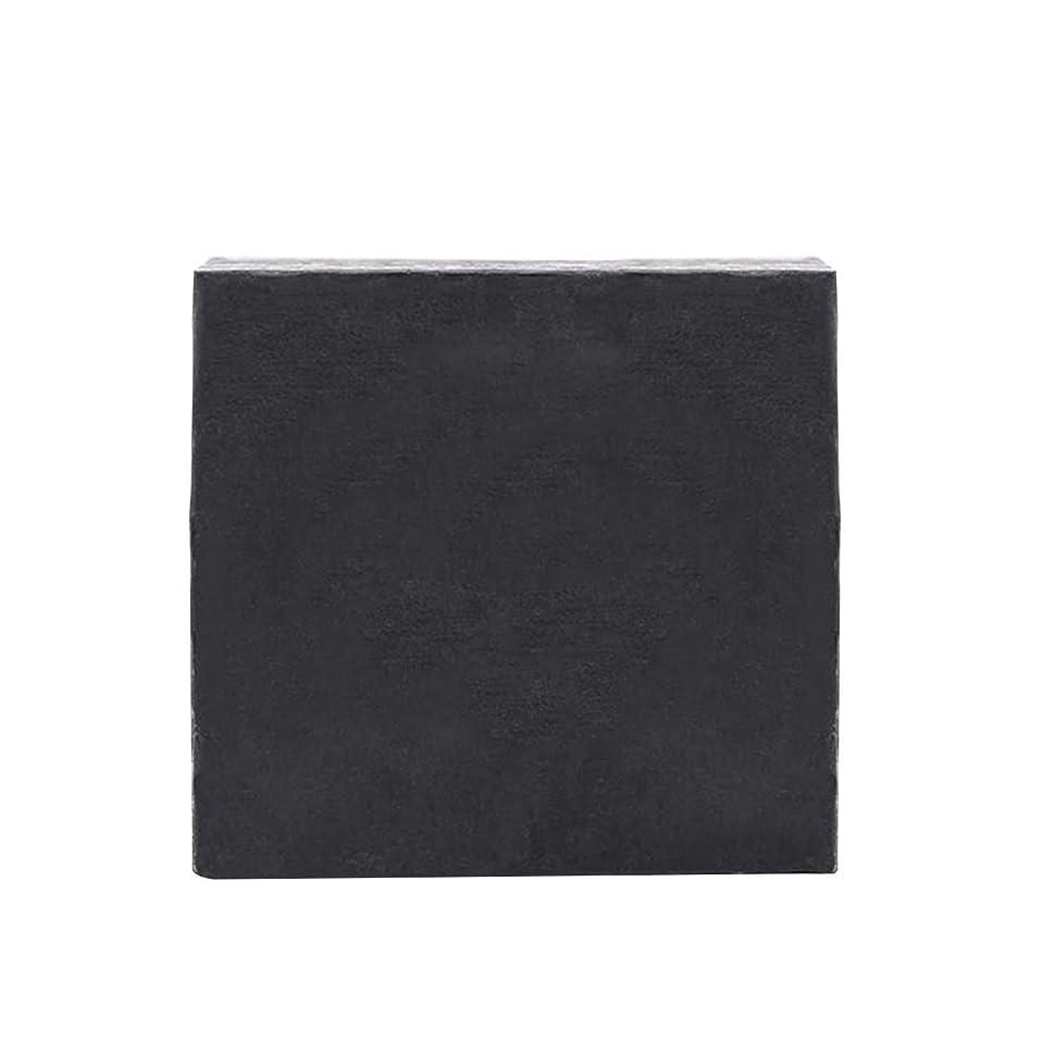 生息地ピストルプラットフォームKapmore 洗顔せっけん 石鹸 ハンドメイド ソープ 固形 にきび 黒ずみ 毛穴 香り 美肌 美容 泡立て 全6タイプ (竹炭)