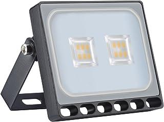 ACHICOO フラッドライト LED 10W 防水ライト 200-240V 800LM IP65 屋外ランプ 防水 ナイトランプ 装飾 明るい 高輝度 室内 室外 夜間照明