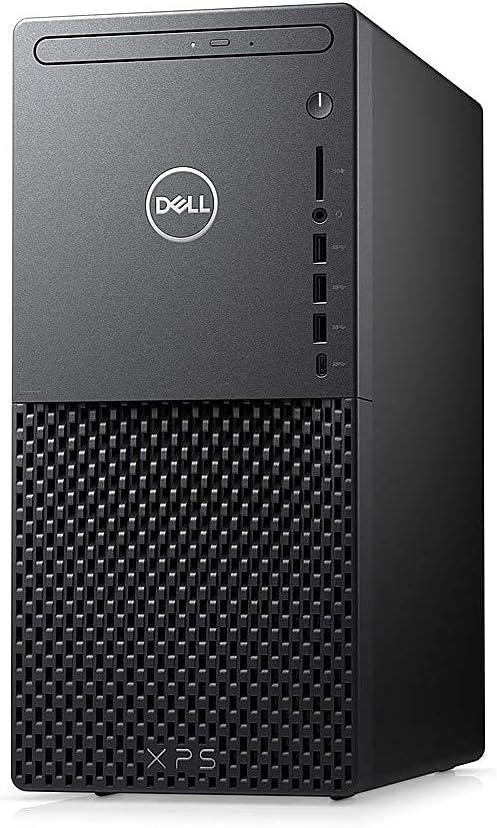 Dell XPS 8940 Tower Desktop PC, 10th Gen Octa-core Intel i7-10700 2.9GHz Processor, 16GB DDR4 Memory, 512GB PCIe M.2 SSD +1TB SATA 7200 RPM HDD, DVD-RW Drive, Windows 10 (Renewed)