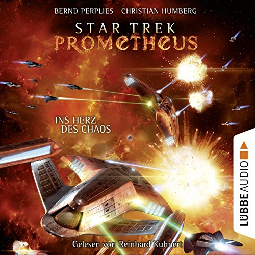 Ins Herz des Chaos (Star Trek Prometheus 3) audiobook cover art