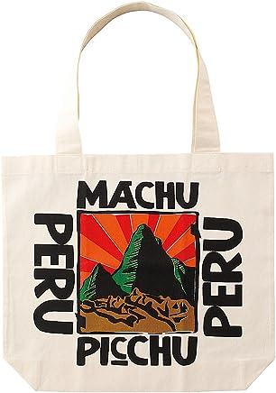 ペルーお土産 トートバッグ 「マチュピチュ」