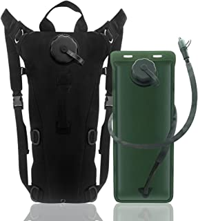 econoLED US Army 3L 3 Liter (100 Ounce) Hydration Pack Bladder Water Bag Pouch Hiking Climbing Survival Outdoor Backpack