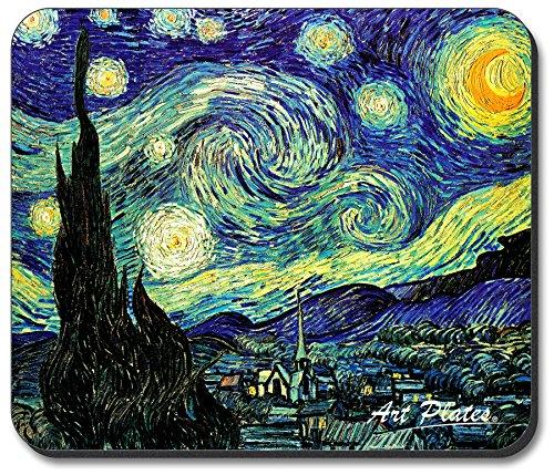 Art Plates Brand Art Plates Brand Mouse Pad - Van Gogh Starry Night