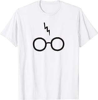 Harry Pawter Cute Glasses Potter Scar Funny T-Shirt