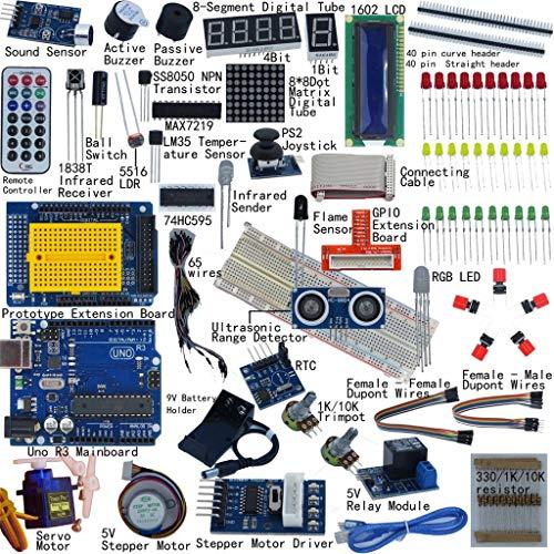 Abcidubxc R3 - Kit educativo Ultimate Sr Kit, pagine con istruzioni dettagliate (lingua italiana non garantita), per imparare l'elettronica e la programmazione