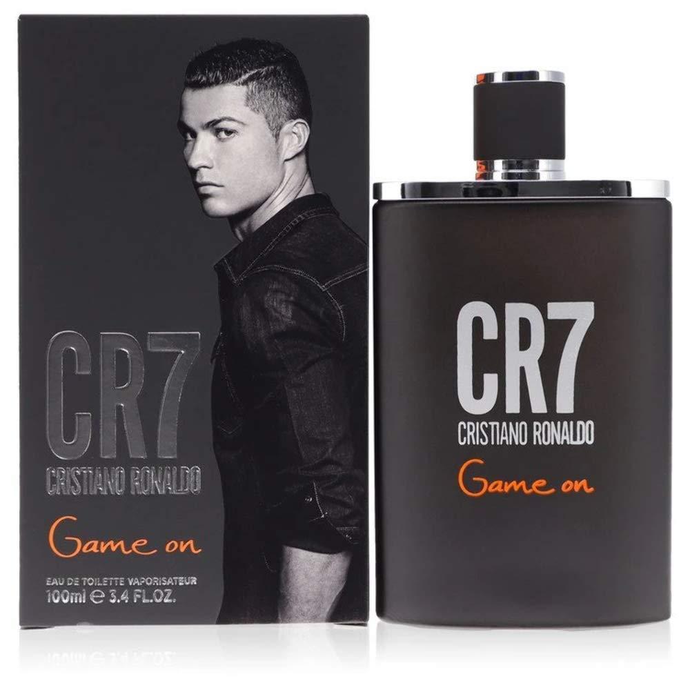 Cristiano Ronaldo CR7 Game On EDT Ranking TOP10 Spray Men Year-end gift oz 3.4