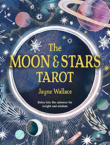 The Moon & Stars Tarot: Includes a full deck of 78 specially commissioned tarot cards and a 64-page