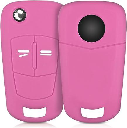2/x rosa fundas para llave para llaves con luz LED linterna llavero.