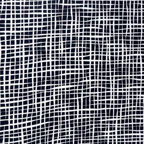 A-Street Prints Shanti Grid Behang, Blauw, 20,5-inch x 33 ft
