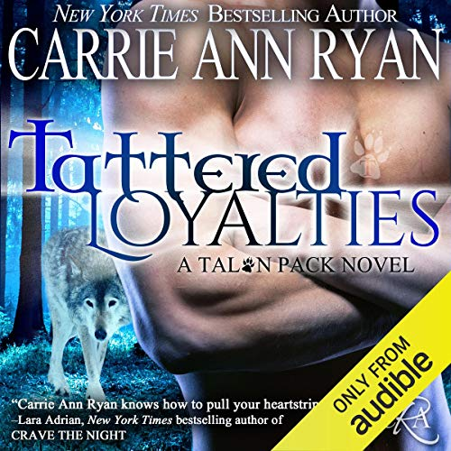 Tattered Loyalties audiobook cover art