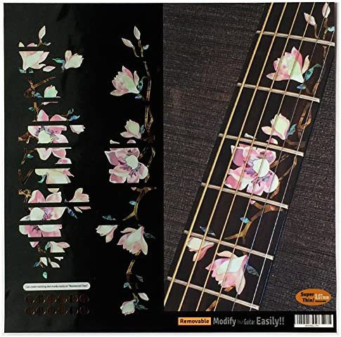 Top 10 Best fretboard markers inlay sticker decals for guitar