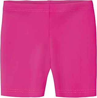 Girls' 100% Cotton Bike Shorts for Sports, School Uniform, or Under Skirts Made in USA